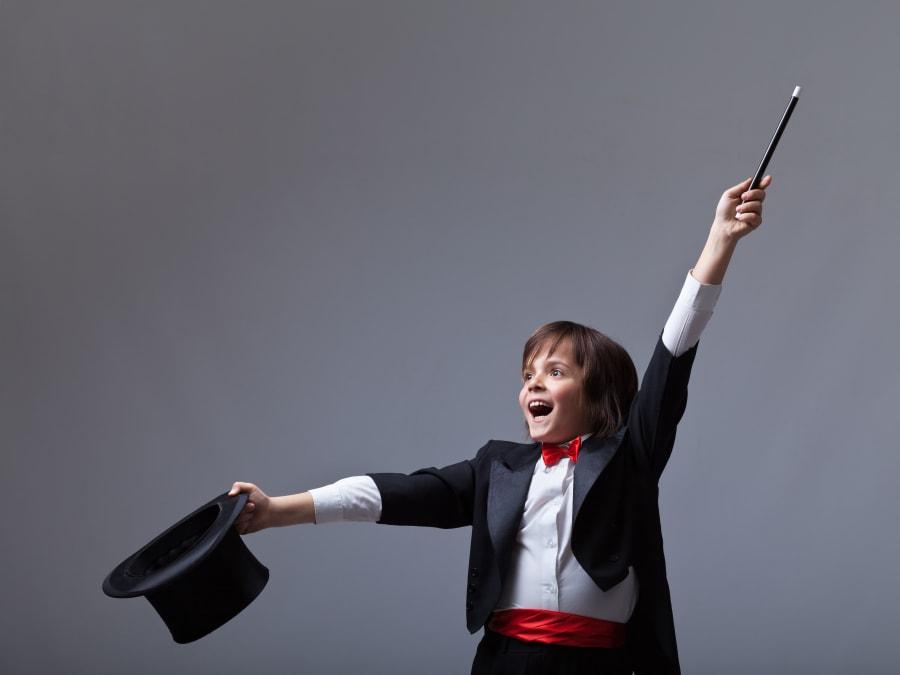 Anniversaire Les Apprentis Magiciens 6-9 ans à domicile (IDF)