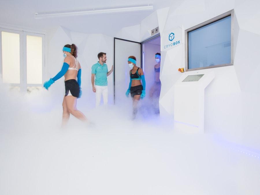 Séance de cryothérapie corps entier Paris 8ème