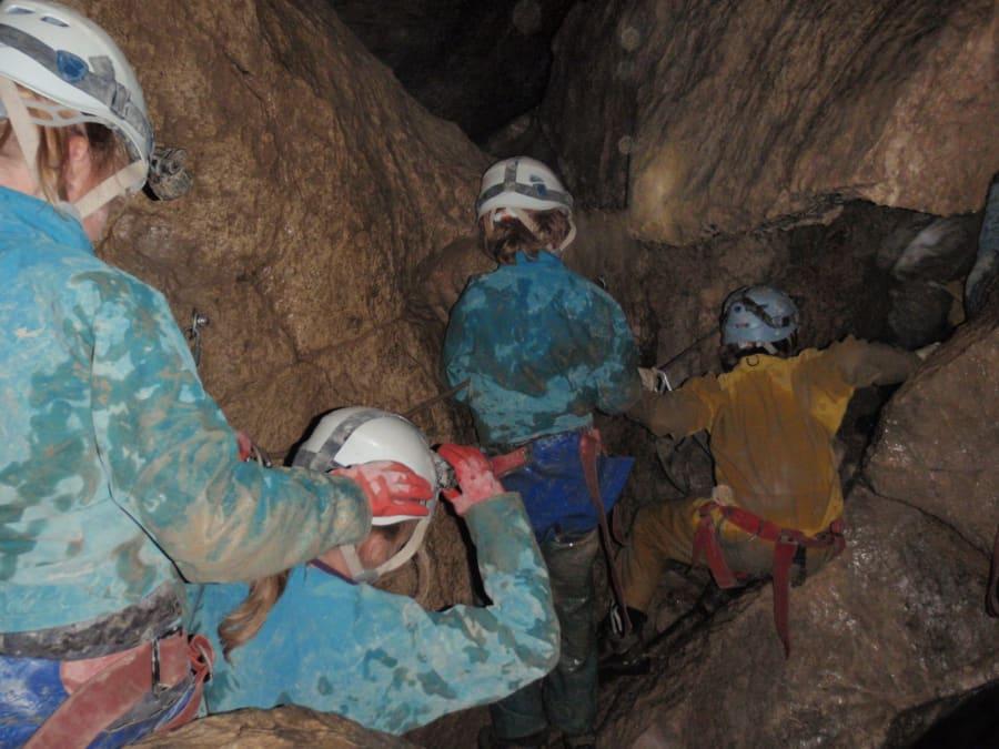 Spéléologie dans la Grotte de Mégevette (Haute-Savoie, 74)