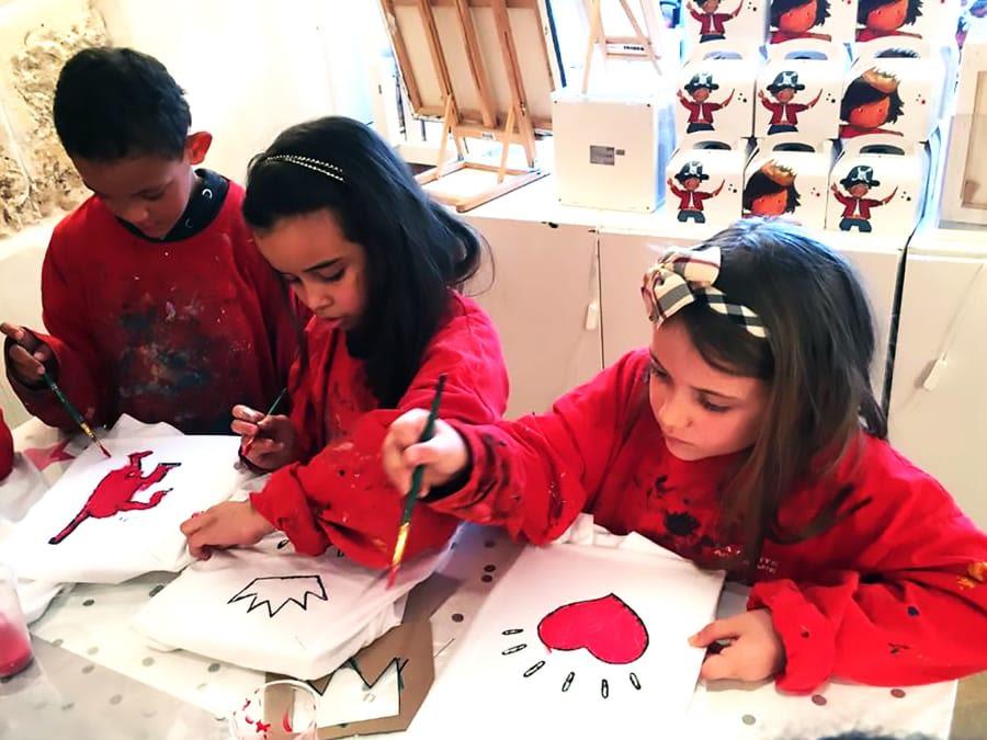 Anniversaire Atelier Créatif 7-15 ans à Paris 17ème