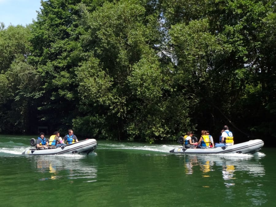 """Balade fluviale """"Le Circuit des Impressionnistes"""" à Bougival"""