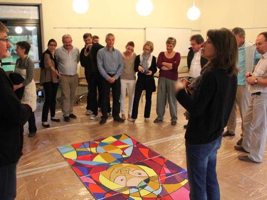 Team Building Création d'une Fresque Interactive
