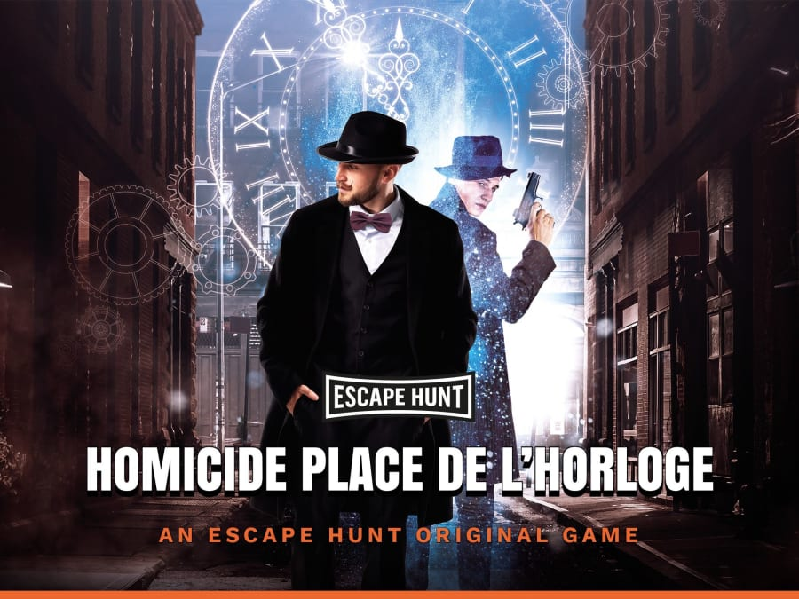 "Escape Game ""Homicide Place de l'Horloge"" à Belfort (90)"