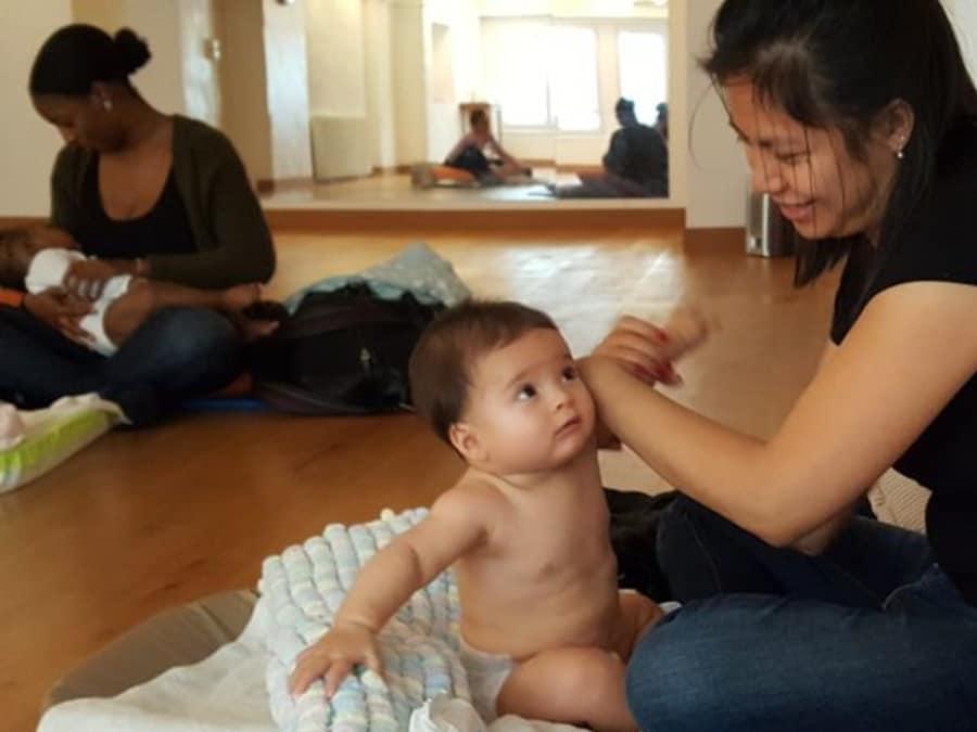 Atelier parent / bébé : apprenez à masser votre bébé