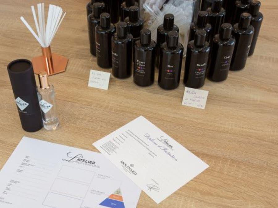 L'atelier découverte du parfum par Molinard à Miramas
