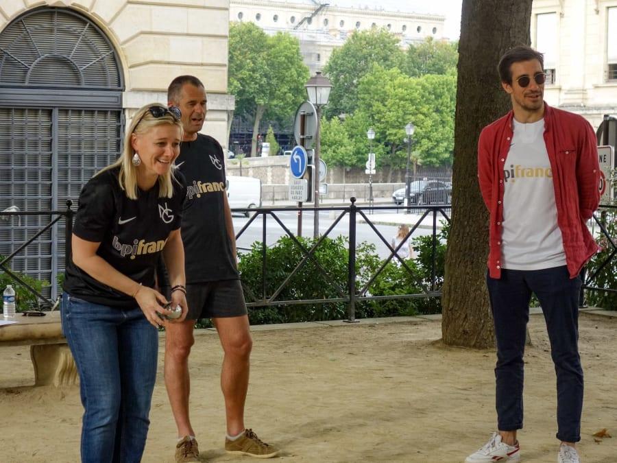 Team Building Vélo & Challenge Pétanque à Paris