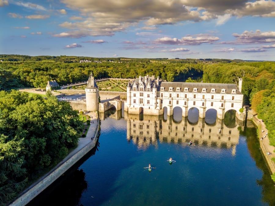 Vol en Montgolfière au-dessus des Châteaux de la Loire