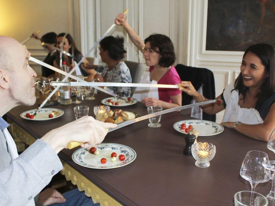 Animation Banquet des Défis pour votre repas d'entreprise