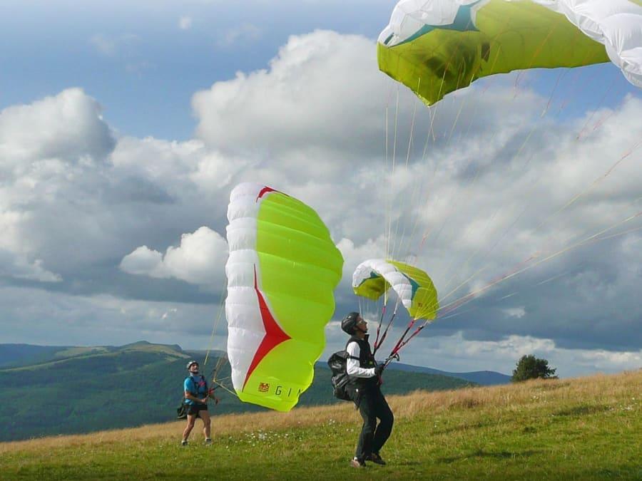 Journée Découverte en Parapente au-dessus du Parc des Vosges