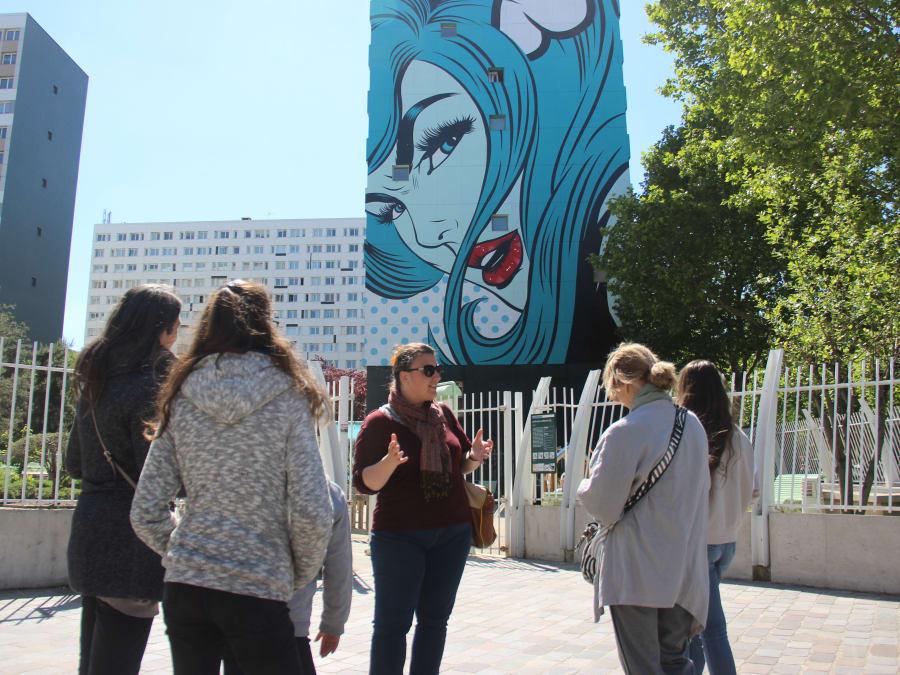 Visite - Balade Street Art à Paris 13e