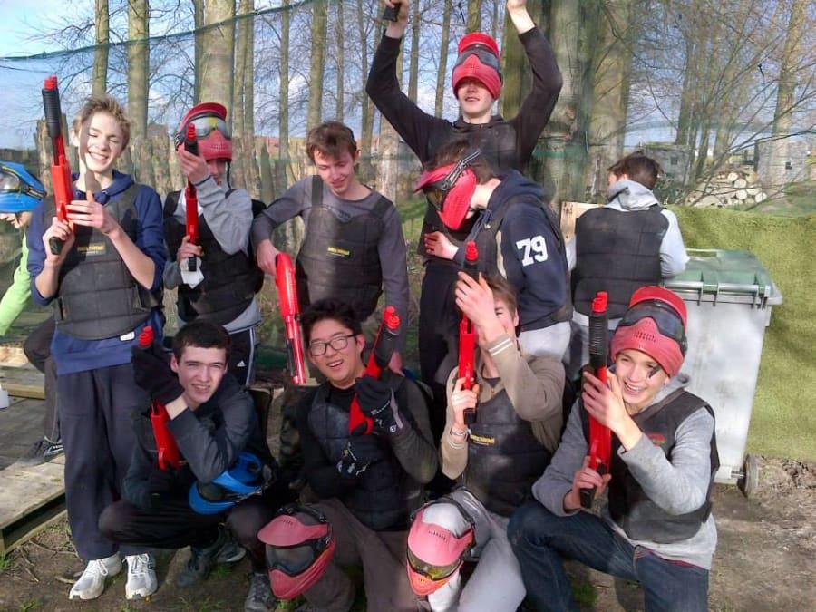 Anniversaire Paintball 12-18 ans à Frelinghien proche de Lille