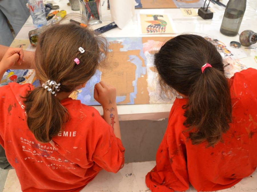 Stages vacances Petits Artistes 4-14 ans à Montpellier