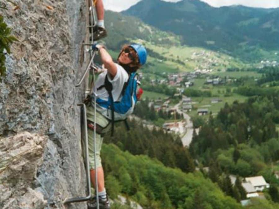Parcours Via Ferrata proche de Thonon (Haute-Savoie - 74)