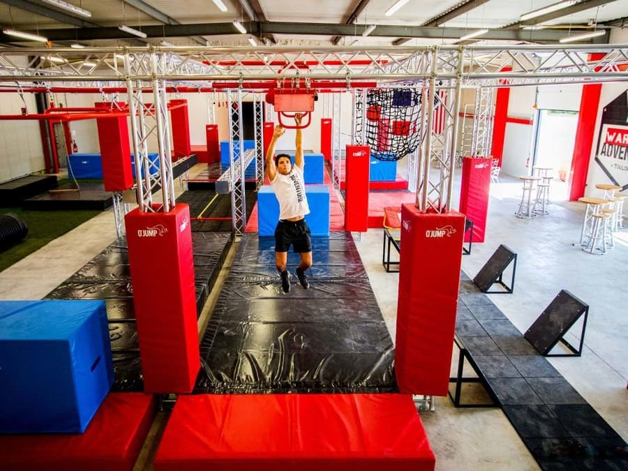 Team Building Parcours Ninja Warrior Adventure au Cateau (Nord)
