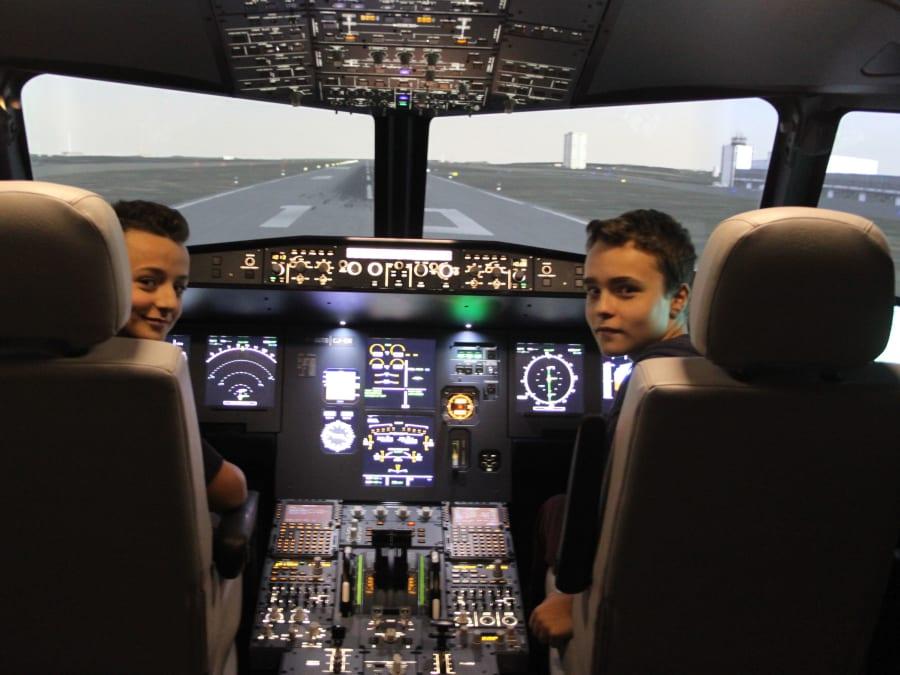 Stage vacances Simulateur de Pilotage 14-19 ans à Paris 13ème