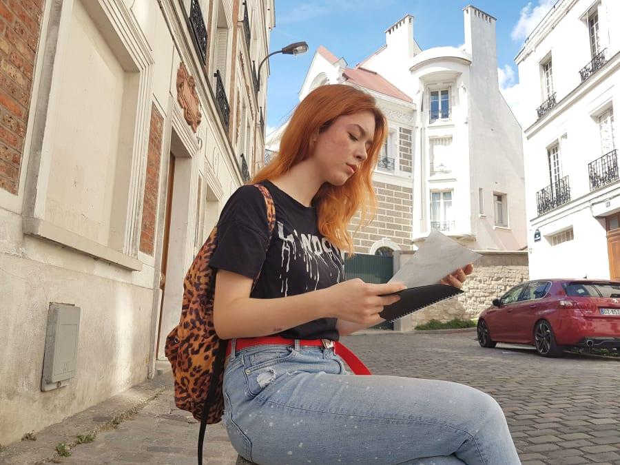 Chasse au trésor à Montmartre