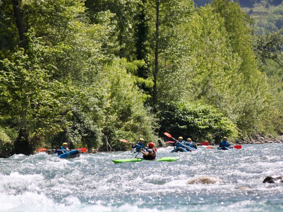 Kayak (air boat), demi-journée sur le Gave de Pau