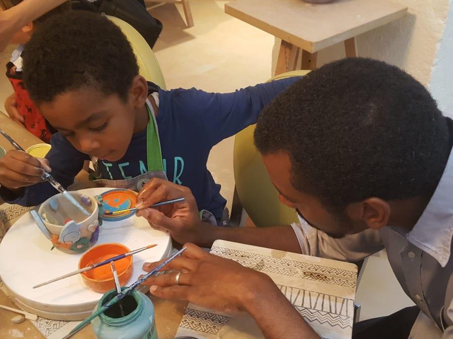 Atelier de Céramique Parent/Enfant à Paris 11ème