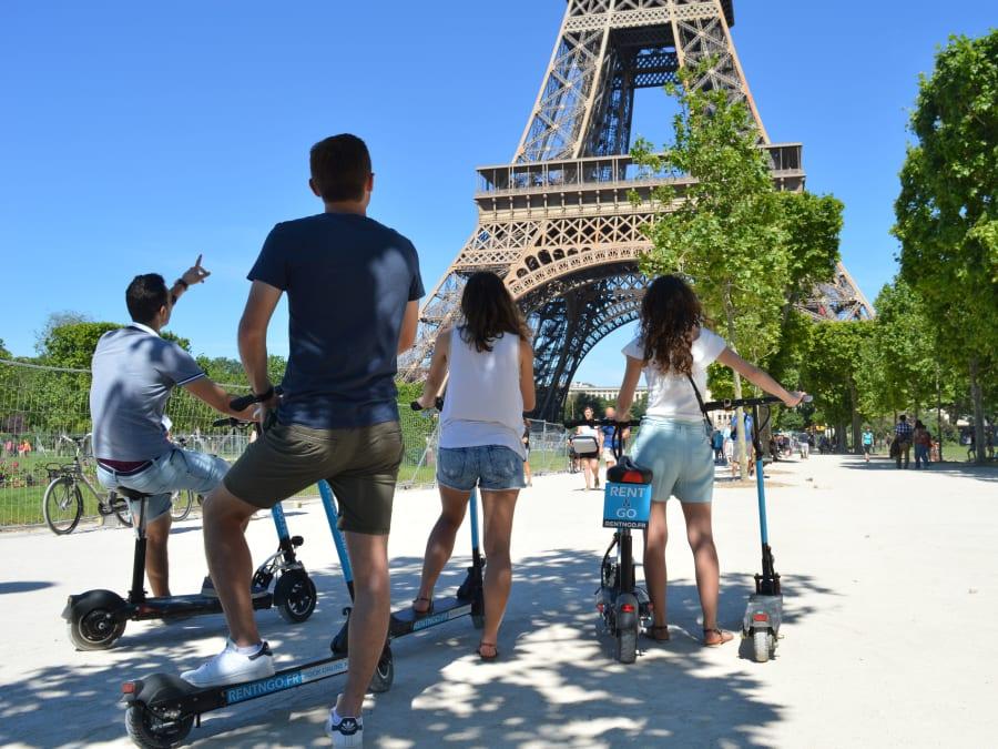 Team Building Visite de Paris en Trottinette Electrique