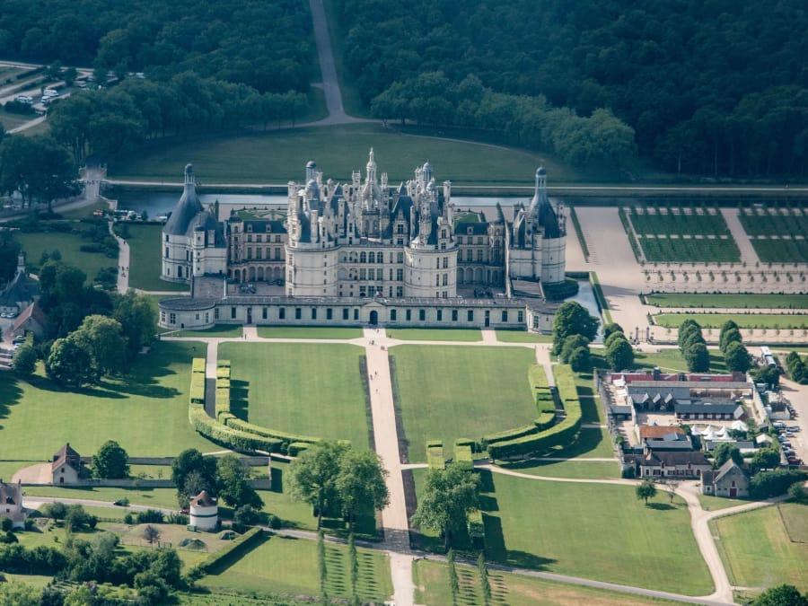 Vol en ULM au-dessus des châteaux de la Loire