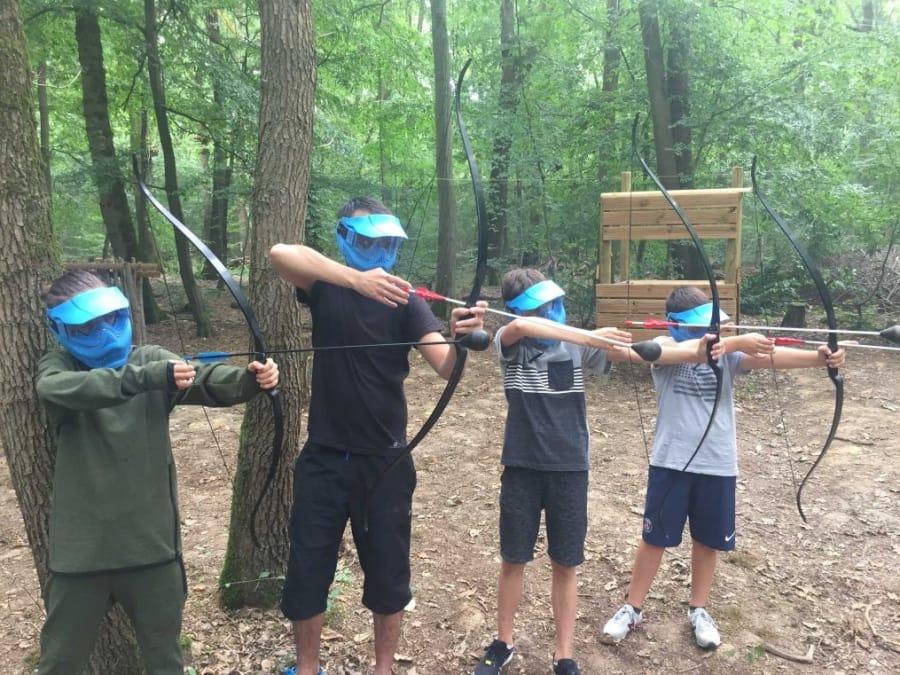 Anniversaire Archery Tag 8-18 ans proche de Paris (Cesson - 77)