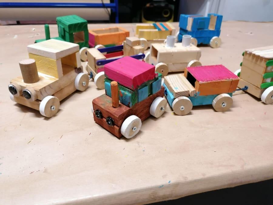 """Atelier Parent-Enfant """"Le Petit Train"""" à Paris 18ème"""