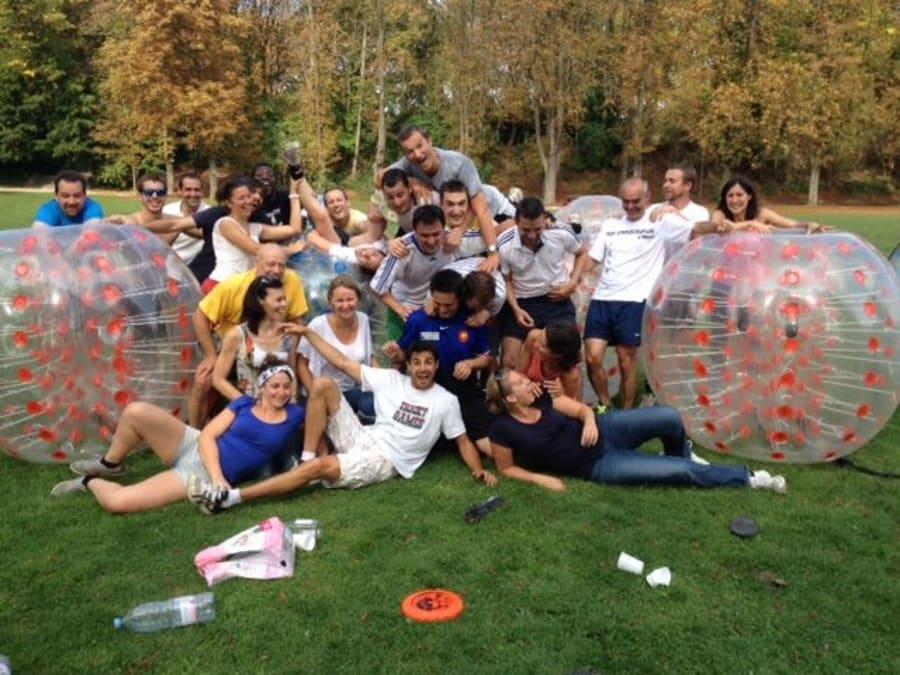 Team Building Bubble Foot à Reims (51)