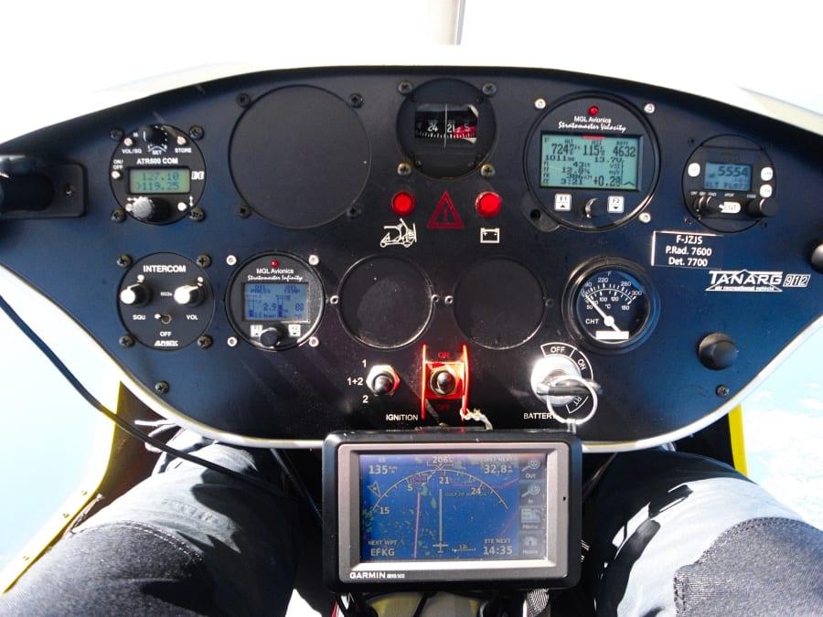 Initiation au pilotage en ULM pendulaire à Cessieu (38)