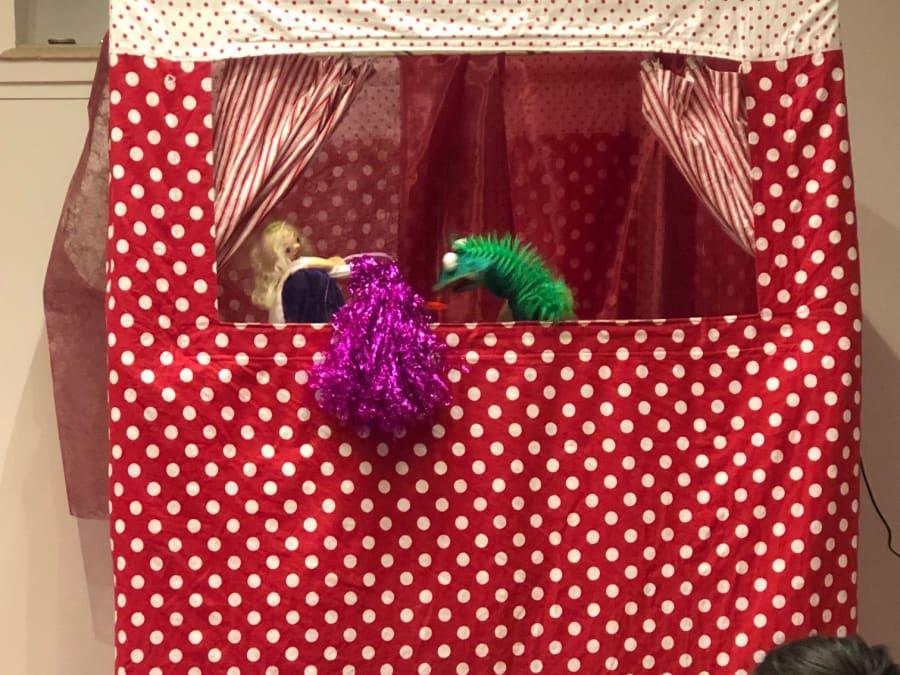 Anniversaire Spectacle de Marionnettes 3-7 ans à domicile