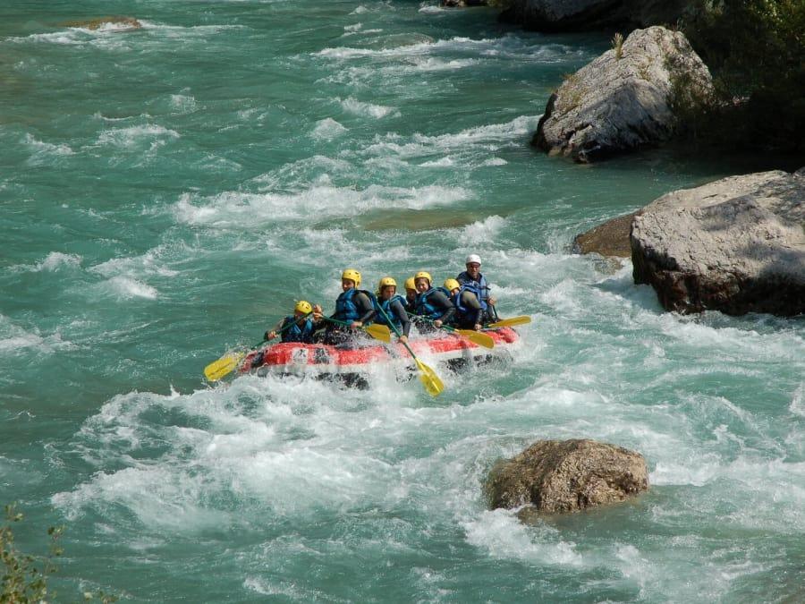 Rafting découverte (descente de 1h30) dans les Gorges du Verdon