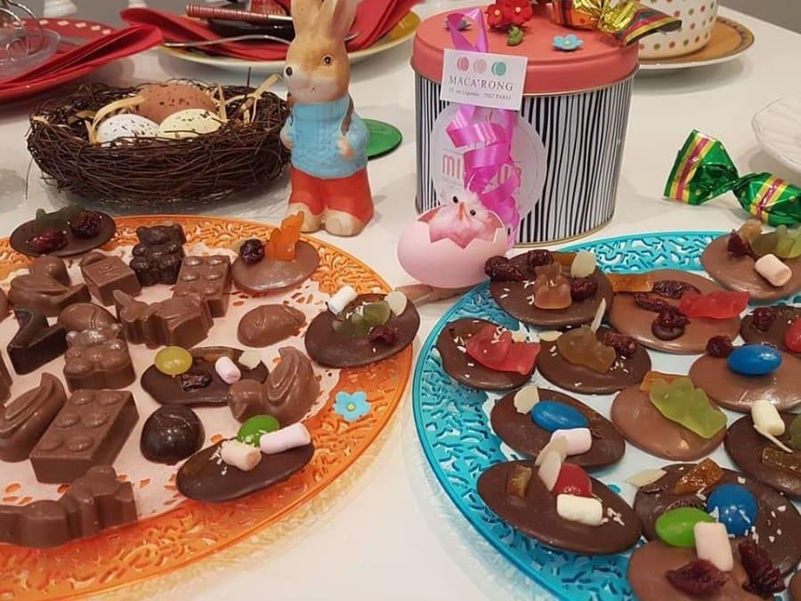 Apprenez à réaliser vos propres mendiants au chocolat à Paris