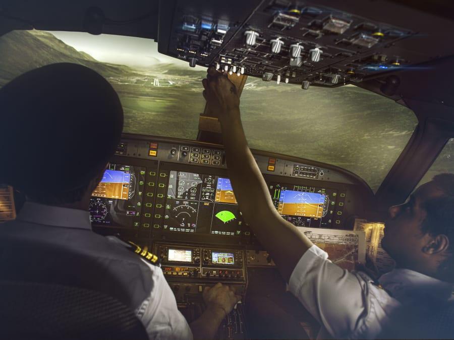 Simulateur avion de ligne avec vol scénarisé à Cholet (49)