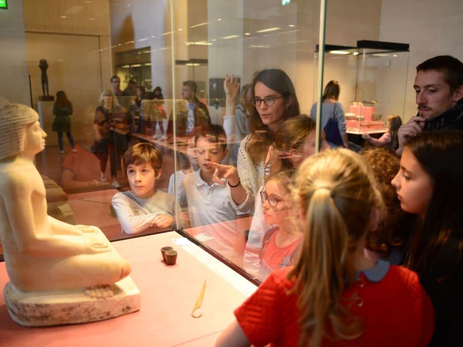 Visite & Énigmes au Musée du Louvre pour enfants 7-12 ans