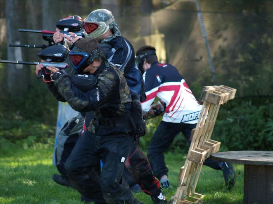 Team Building Paintball à 10 minutes de Lille (Frélinghien)