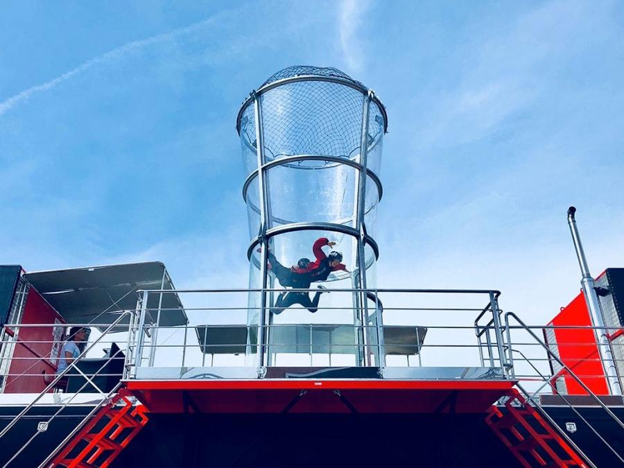 Simulateur de Chute-libre en soufflerie à Toulouse