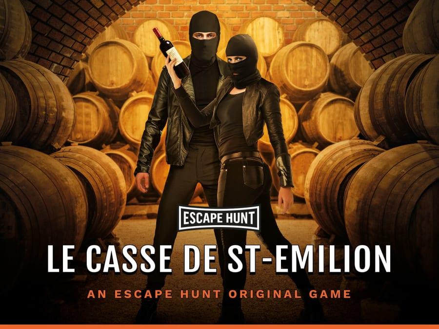 """Escape Game """"Le Casse de Saint-Emilion"""" à Bordeaux (33)"""