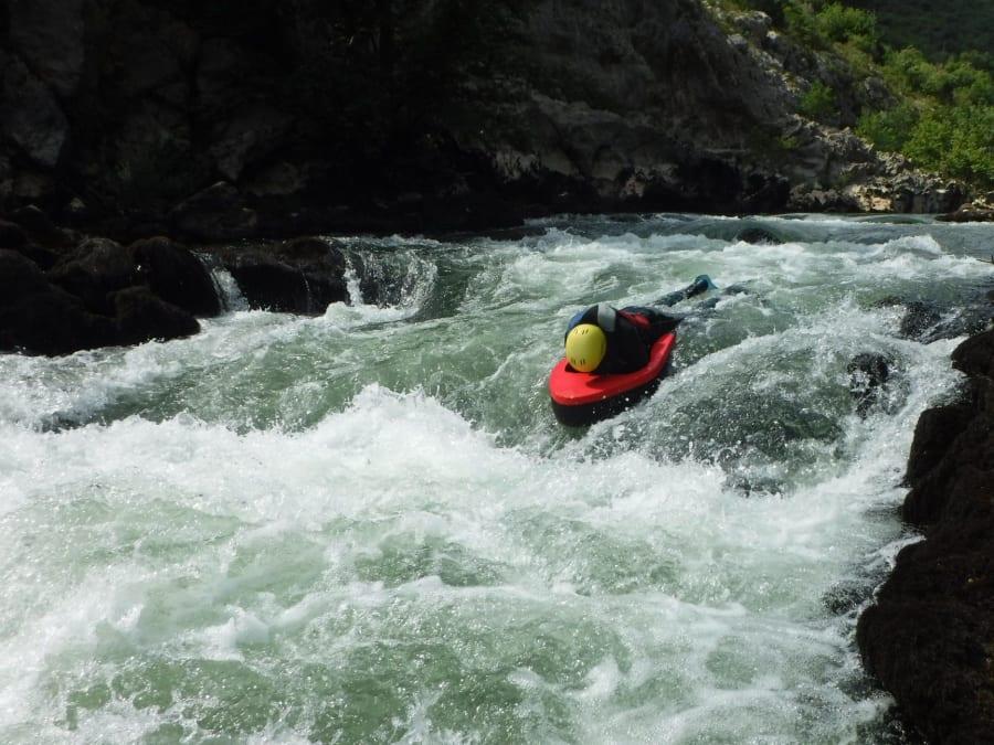 Team Building Hydrospeed dans les Gorges de l'Hérault