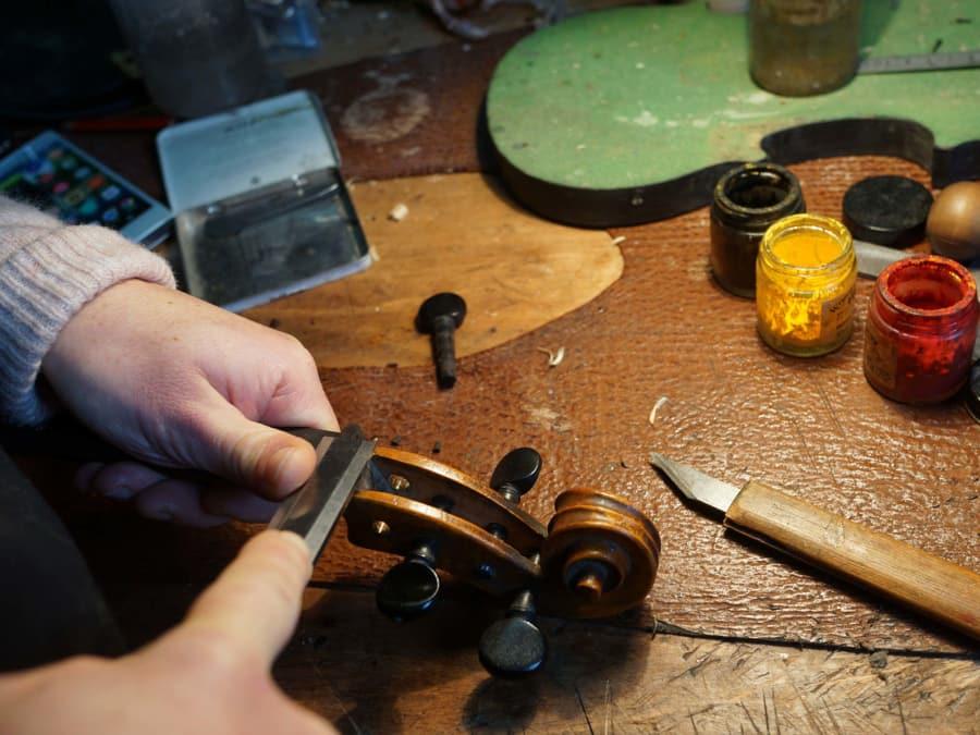 Visite d'un Atelier de Luthier à Paris