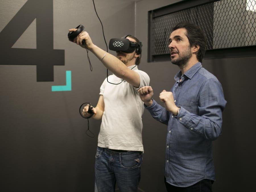 Session de Réalité Virtuelle en plein cœur de Paris