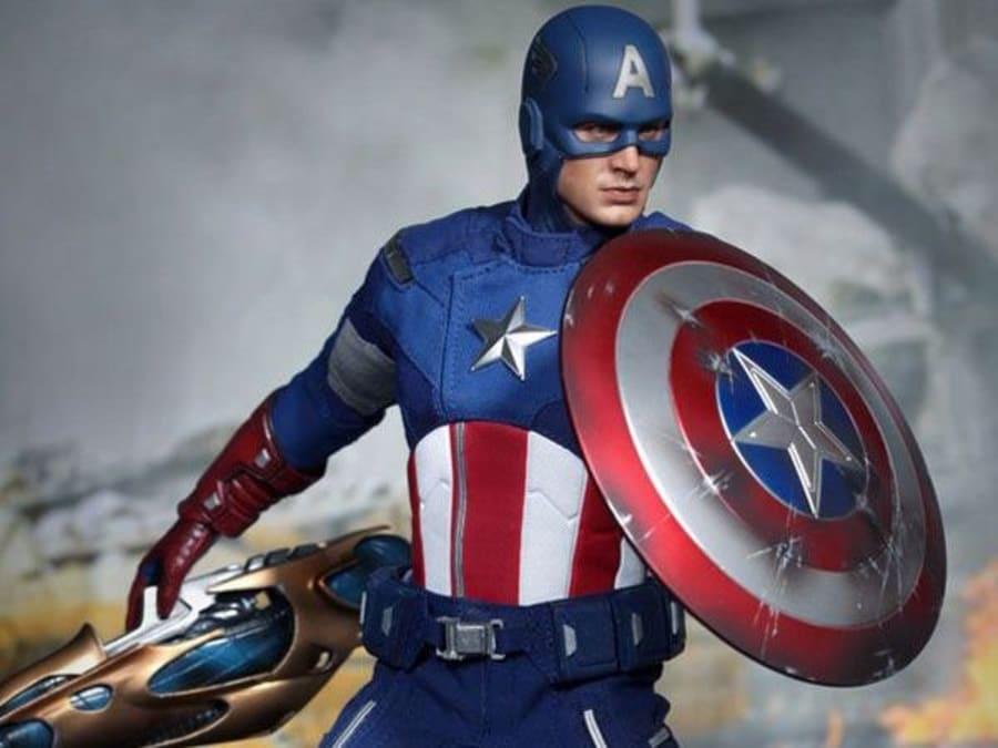 Anniversaire Captain America 5-9 ans à domicile (Ile-de-France)