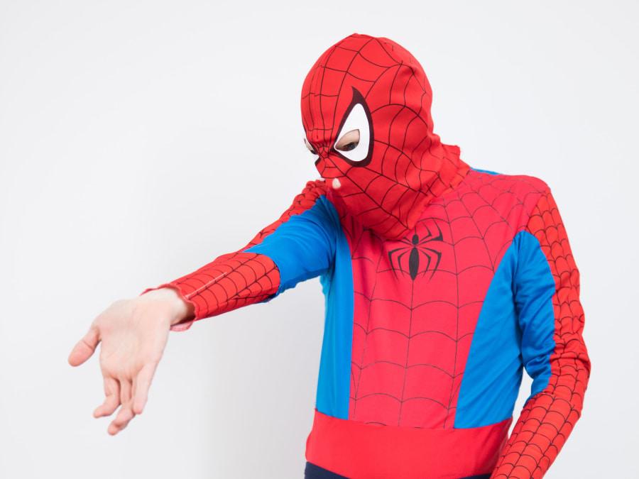 Anniversaire Spiderman 2-12 ans à domicile