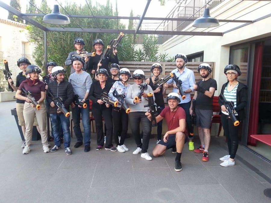 Team Building Laser Game extérieur dans le Languedoc-Roussillon