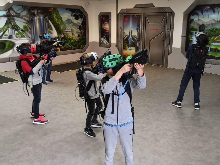 Anniversaire Réalité Virtuelle 8-18 ans près de Nantes (44)