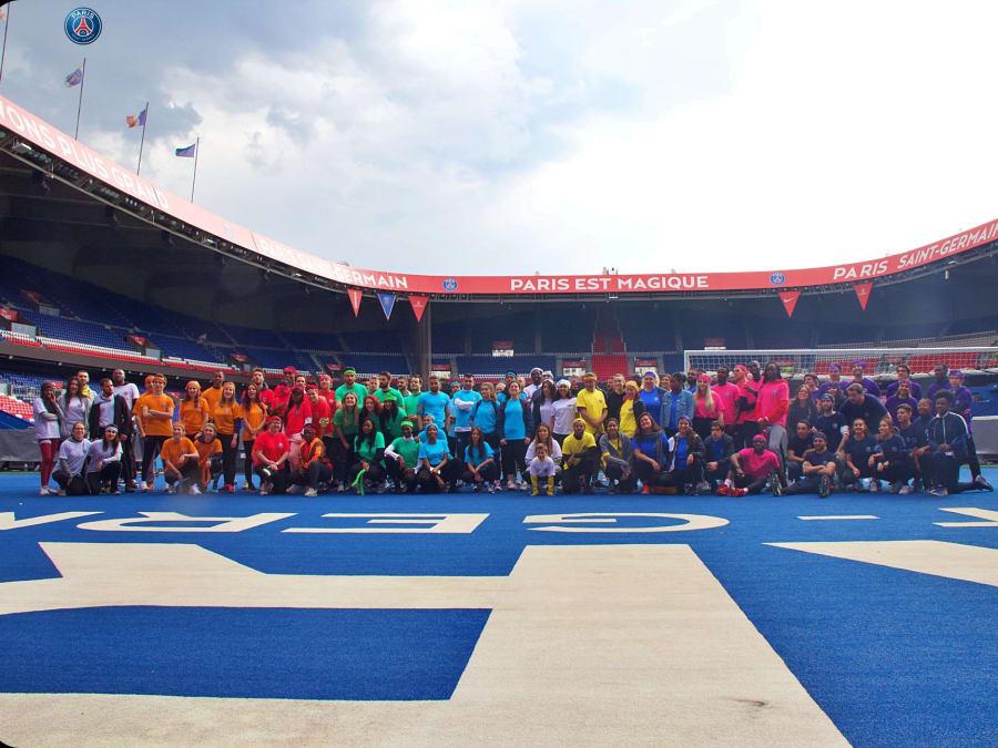 Team Building Olympiades Sportives dans un parc à Paris