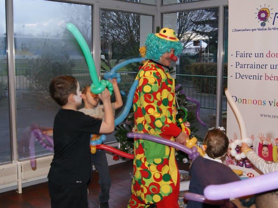 Anniversaire Clown & Magie avec Piopio à domicile (IDF)