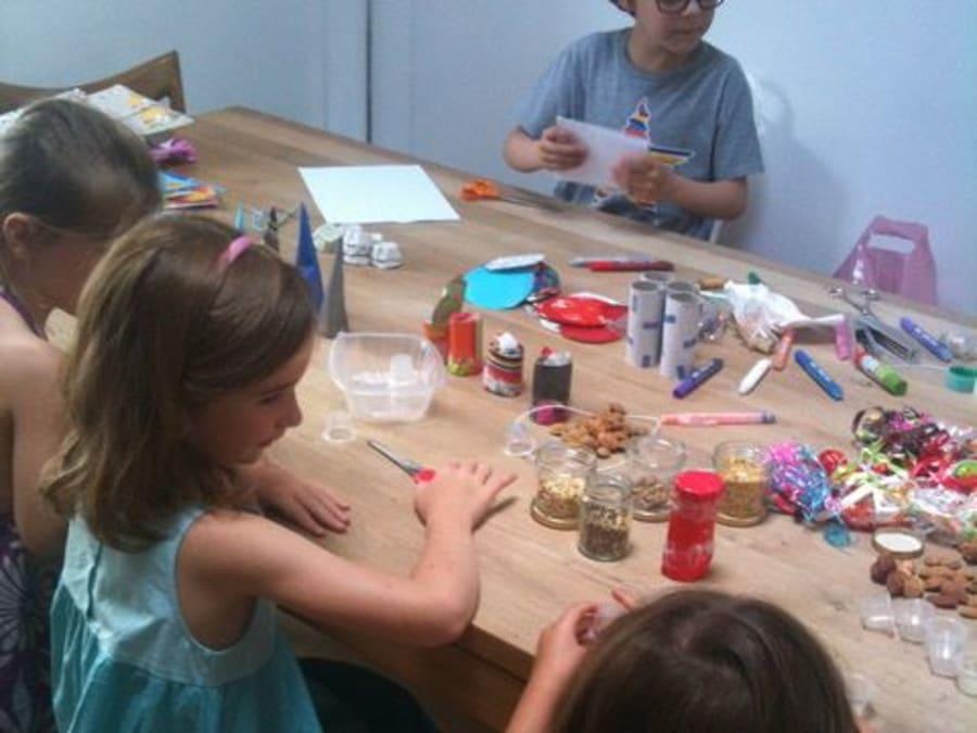 Anniversaire Créatif Écolo Rigolo 5-12 ans à domicile