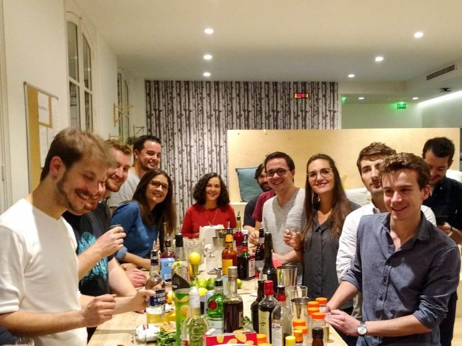 Team Building création et dégustation de Cocktails