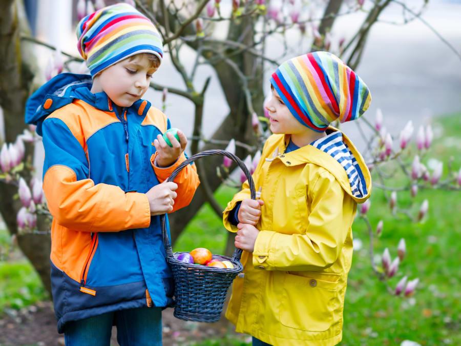 Chasse aux œufs Pâques accrobranche Ecopark Paris Val-de-Marne