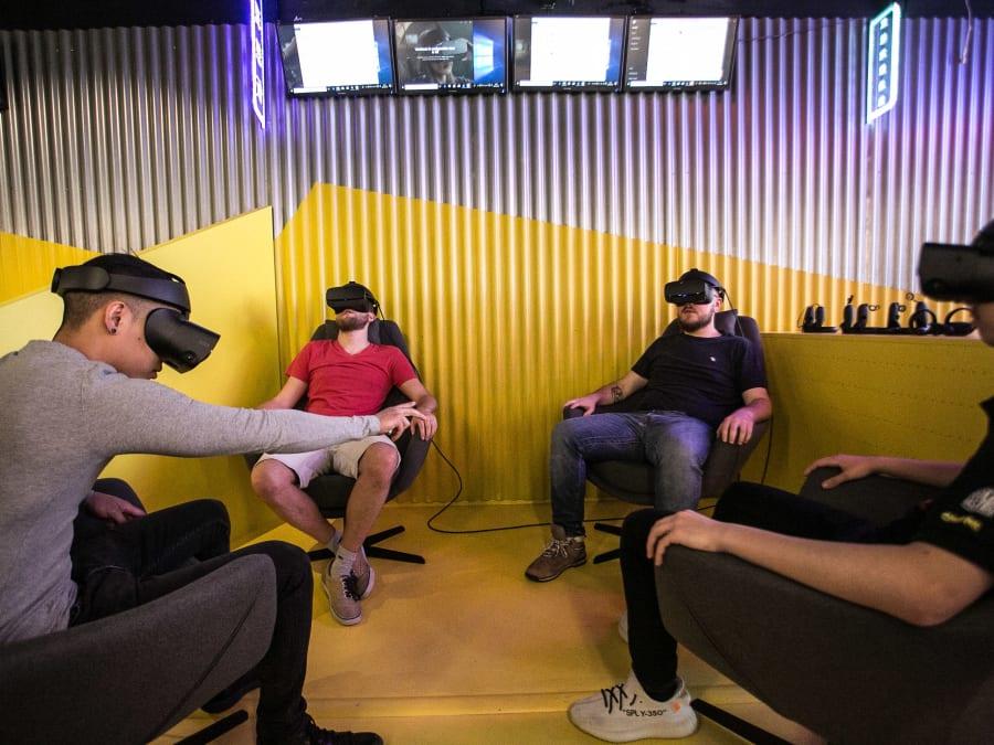 Anniversaire Réalité Virtuelle 7-18 ans à Paris 1er