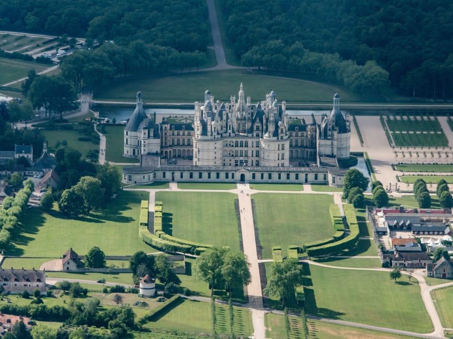 Vol en ULM pendulaire au-dessus des châteaux de la Loire